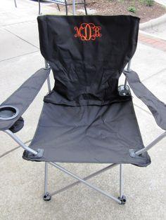Monogrammed Beach Chairs. | Custom Embroidery | Pinterest | Beach Chairs,  Monograms And Beach