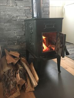 My Ulefos oven, keeping my cabin warm all year round. @ Lindøya, Oslo, Norway
