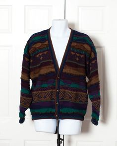 A personal favorite from my Etsy shop https://www.etsy.com/listing/468478638/vintage-80s-90s-mens-textured-cardigan