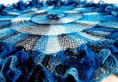 Red Heart Sashay Yarn Patterns | Knitting Up A Storm: Spiral Sashay Shawlette