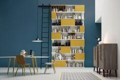 Yellow shelving - Novamobili at 100% Design