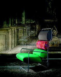 SANCARLO - Armchair by Achille Castiglioni