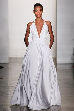 Vogue is Viral - I LOVE this dress... so simple, but everything I want. I wish it had a hint of lace...