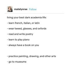 Dark academia is just going to art school and learning languages pass it on Out Of Touch, The Secret History, Pretty Words, Look At You, Found Out, Academia, Writing Tips, Light In The Dark, Decir No