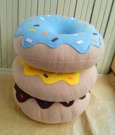 Donut Pillow - Christmas Gift - Decorative Pillow - Home Decor - ikea . - Donut Pillow – Christmas Poison – Decorative Pillow – Home Decor – ikea hacks – - Food Pillows, Cute Pillows, Baby Pillows, Throw Pillows, Burlap Pillows, Sofa Throw, Accent Pillows, Handmade Pillows, Decorative Pillows
