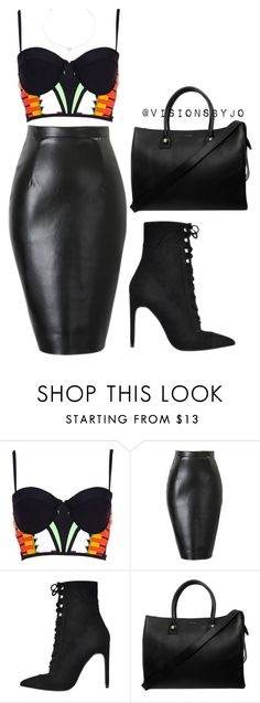 """Untitled #1141"" by visionsbyjo ❤ liked on Polyvore featuring River Island, Jeffrey Campbell, Paul & Joe and Agnes de Verneuil"
