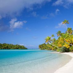 Best Beaches on Earth: One Foot Island Beach, Cook Islands . no permanent residents; you are dropped off by boat and picked up at sundown to the sound of native islander drumbeats. Best Places To Travel, Places To See, Most Beautiful Beaches, Beautiful Places, Amazing Places, Wonderful Places, Travel Around The World, Around The Worlds, American Islands
