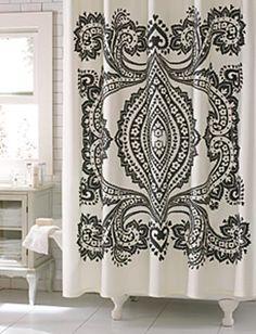 beautiful shower curtain!