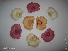 felting orchids   -  Украшение Валяние (фильцевание): мои малышки Шерсть. Фото 2