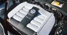 Passat W8 engine