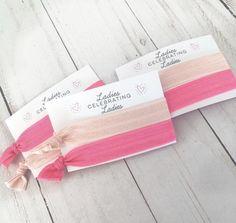Galentine's Day Hair Tie Favor | Galentine's Gift | Girl Gang | Valentine's Girls Night | Ladies Celebrating Ladies | Best Friend Gift