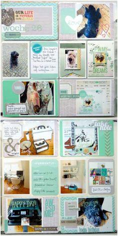 Project Life mit dem AC Blush Core Kit |Anke Kramer für www.danipeuss.de