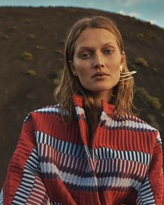 Toni Garrn stars in L'Express Styles February 2016 Issue