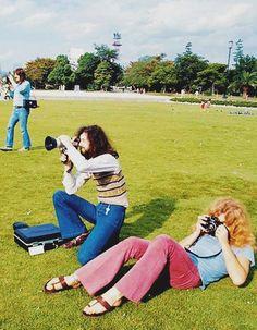 Page & Plant, 1971, Japan