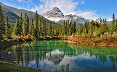 Desktop Wallpaper Natural scenery of the Canadian forest lake HD for PC, Mac, Laptop, Tablet, Mobile Phone Rocky Mountains, Colorado Mountains, Move Mountains, Canadian Forest, Wallpaper Free, Windows Wallpaper, Hd Nature Wallpapers, Desktop Wallpapers, Hd Backgrounds