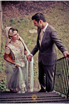 LOVE her jewelry #wedding #desiwedding