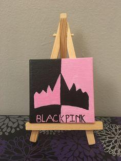 BLACKPINK mini painting 🖤💖