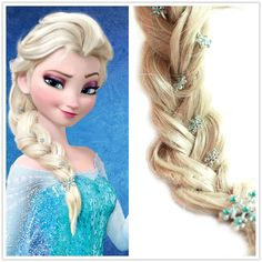 New Frozen Princess Snow Queen Elsa Anna by Youngsterfashion, $23.90