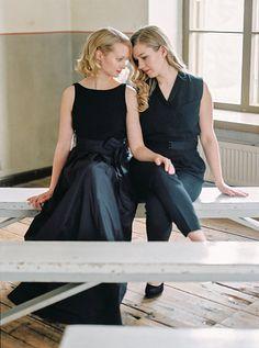 Photo from Ida & Noora collection by Katja Scherle Festtagsfotografien  lesbian wedding.