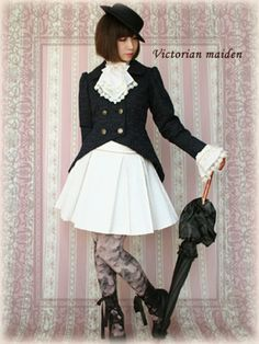 Classic Lolita Skirt and Jacket || Victorian Maiden
