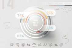 Posted by @newkoko2020 Infographic Pyramid (14) by Infographic Paradise on @creativemarket