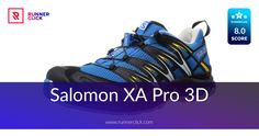 Salomon XA Pro 3D Review Running Shoe Reviews, Trail Running Shoes, Adidas Sneakers, 3d, Adidas Shoes