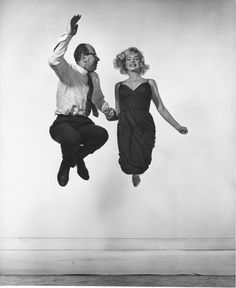 Marilyn Monroe e Philippe Halsman, 1959. - (Yvonne Halsman, Philippe Halsman archive/Magnum Photos)