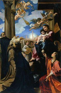 Carracci_Ludovico_Madonna_Bargellini, Pinacoteca Nazionale