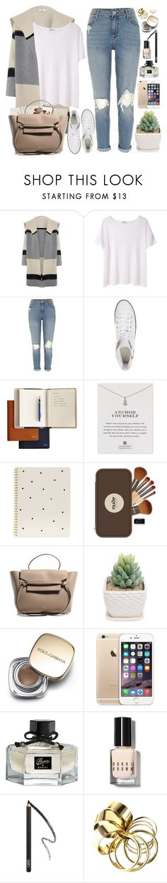 """""""2134. Travel Around The World"""" by chocolatepumma ❤ liked on Polyvore featuring Vince, T By Alexander Wang, Converse, Dogeared, Sugar Paper, Dolce&Gabbana, Gucci, Bobbi Brown Cosmetics, NARS Cosmetics and Orelia"""