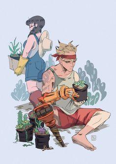 Gardening Day by ali-on