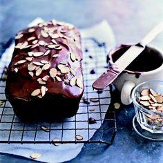 Chocolate Tea Cake #chocolate #cake #dessert #countryliving