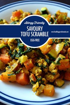 Creating Egg-free Breakfasts and Brunches Eggless breakfasts? with these delicious, satisfying ways to enjoy breakfast without eggs, including a recipe for a Savoury Tofu Scramble. Breakfast Ideas Without Eggs, Great Breakfast Ideas, Free Breakfast, Tofu Recipes, Vegetarian Recipes, Healthy Recipes, Healthy Vegan Breakfast, Tofu Scramble, Canadian Food