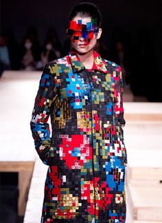 #catwalk #fashion #geek #pixel #8bit