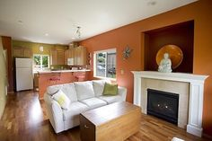 Love the living room of this #Seattle #Washington home
