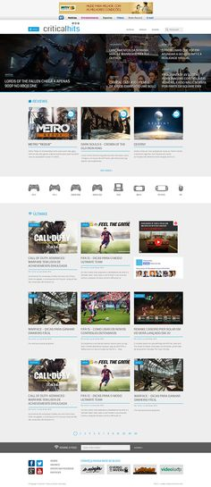 Critical Hits on Web Design Served
