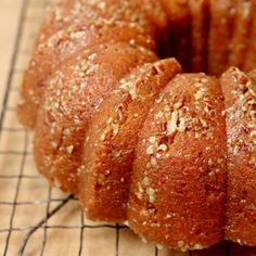 Sweet-Potato Bourbon Bundt Cake