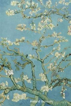 painting Wallpaper - Blossoming Almond Tree, famous post impressionism fine art oil painting by Vincent van Gogh ' iPhone Case by naturematters. Van Gogh Pinturas, Vincent Van Gogh, Van Gogh Wallpaper, Painting Wallpaper, Paintings Famous, Van Gogh Paintings, Famous Impressionist Paintings, Famous Artists, Van Gogh Tapete