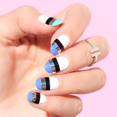 If you like to go there with your nail art but aren't that adventurous with your…