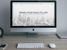 Qweeco Web Design & Development Website by Antony Nosenko