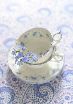 Delicate Teacups.