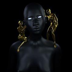 I'm also loving @jasonebeyer's surreal 3d works  - from @cacheflowe on Ello.