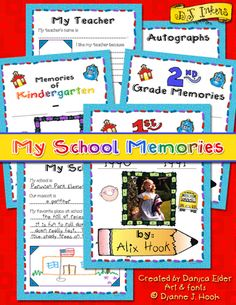 Give students a memorable keepsake of the school year with this darling activity download... and for a limited time save $1 when you download yours before 5/13/15!