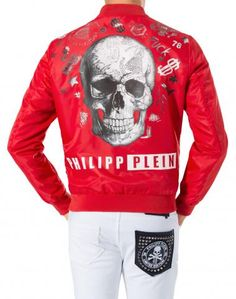 Philipp Plein Men's Jackets: Leather, Denim, Fur Jackets for Men | Philipp Plein