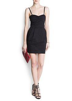 MANGO - CLOTHING - Sale - Pleated details dress