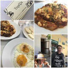 Ταβέρνα Τερέζα στη Μυρσίνη Τήνου και μελιτζάνες φούρνου Chicken, Meat, Food, Chef Recipes, Koken, Beef, Meals, Yemek, Cubs