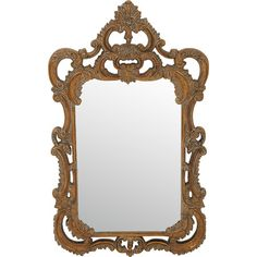 Boasting a bold French Regency frame, this elegant wall mirror makes an antiqued focal point for your traditional parlor or offers a stylish contrast for a m...