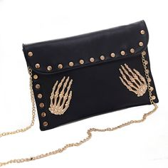 This is a list of skull cross body purses many different colors,designs,prices, lots of variety for skull lovers. These cross body bags are a little bit smaller and go across your body and are very cute and stylish for those who don't like big bulky bags. I myself don't carry many items so smaller bags like this are very convenient and are very cute with my outfits. These bags are also really cute for younger kids or teens who like to carry around fun colorful bags for there…