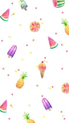 Cute Pastel Wallpaper, Cute Patterns Wallpaper, Aesthetic Pastel Wallpaper, Kawaii Wallpaper, Aesthetic Wallpapers, Summer Wallpaper Phone, Flower Phone Wallpaper, Iphone Background Wallpaper, Cute Wallpaper Backgrounds
