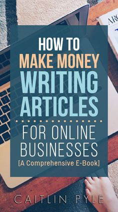 How to work at home writing articles for online businesses... down to a science! via @#