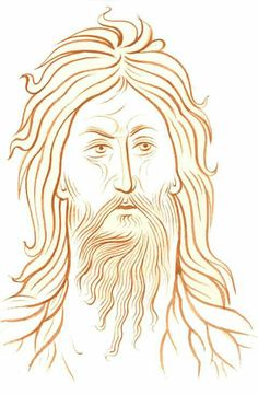 Religious Icons, Religious Art, Christian Drawings, Byzantine Icons, Alphonse Mucha, John The Baptist, Orthodox Icons, Painting Lessons, Writing
